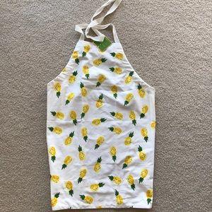 NWT Kate Spade pineapple apron